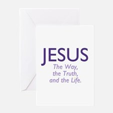 Jesus the Way Greeting Card