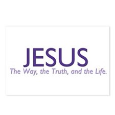 Jesus the Way Postcards (Package of 8)