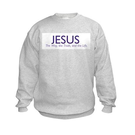 Jesus the Way Kids Sweatshirt