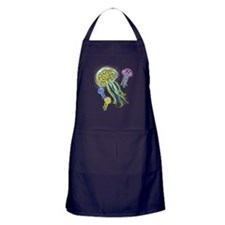 Jellyfish Group Apron (dark)