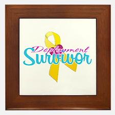 Survivor Framed Tile