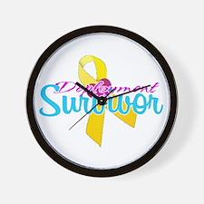 Survivor Wall Clock
