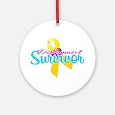 Survivor Ornament (Round)