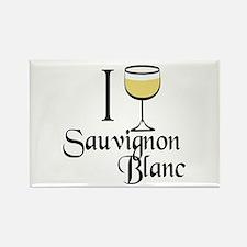 Sauvignon Blanc Rectangle Magnet