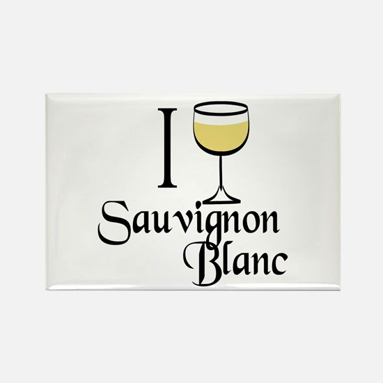 Sauvignon Blanc Rectangle Magnet
