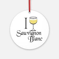 Sauvignon Blanc Ornament (Round)