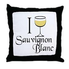 Sauvignon Blanc Throw Pillow