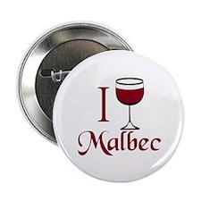 "I Drink Malbec Wine 2.25"" Button"
