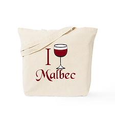 I Drink Malbec Wine Tote Bag