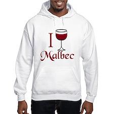 I Drink Malbec Wine Hoodie