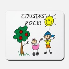 Cousins Rock One Mousepad