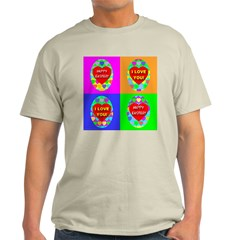 Four Perfect Easter Eggs Of H Ash Grey T-Shirt