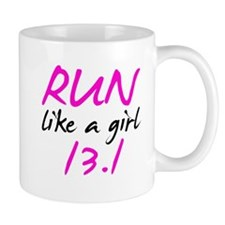 Run like a girl 13.1 Mug