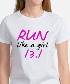 Run like a girl 13.1 Tee
