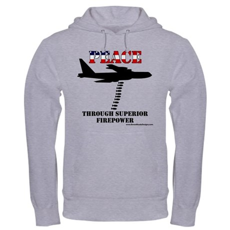 """Peace"" B-52 Hooded Sweatshirt"
