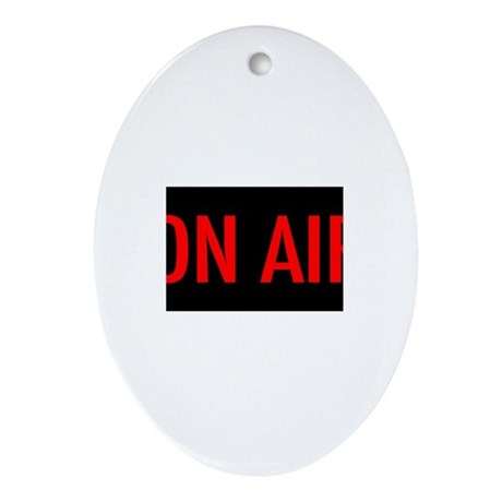 On Air Ornament (Oval)