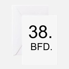BFD Greeting Card
