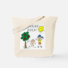 Cousins Rock Five Tote Bag