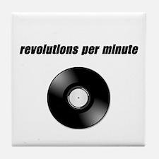 RPM revolutions per minute Tile Coaster