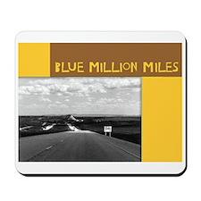 Blue Million Miles Mousepad