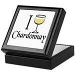 I Drink Chardonnay Keepsake Box