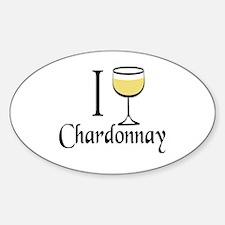 I Drink Chardonnay Decal