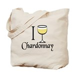 I Drink Chardonnay Tote Bag