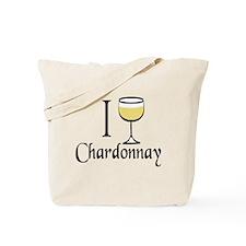 I Drink Chardonnay Tote Bag