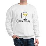 I Drink Chardonnay Sweatshirt