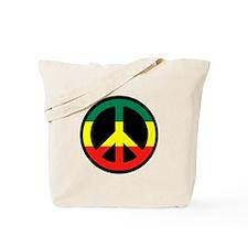 Rasta Peace Tote Bag