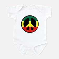 Rasta Peace Infant Bodysuit