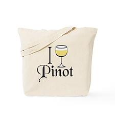 Pinot Wine Drinker Tote Bag