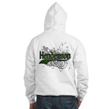 Henderson Tartan Grunge Jumper Hoody