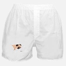 Lazy Pug Boxer Shorts