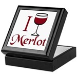 Merlot Drinker Keepsake Box