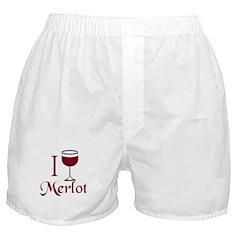 Merlot Drinker Boxer Shorts