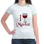 Merlot Drinker Jr. Ringer T-Shirt