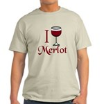Merlot Drinker Light T-Shirt