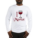 Merlot Drinker Long Sleeve T-Shirt