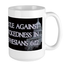 Ephesians 6:12 Mug