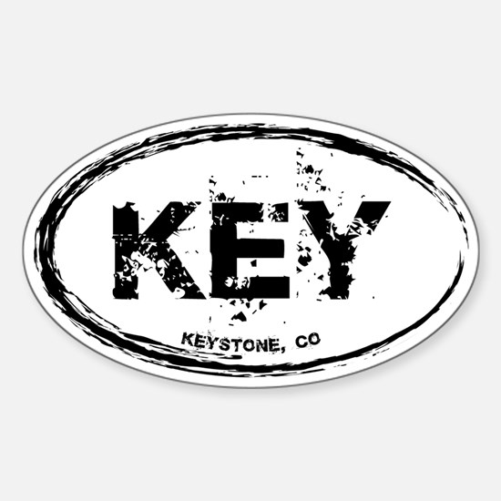 Keystone Colorado Sticker (Oval)