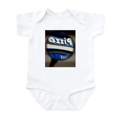Pizza azziP Infant Bodysuit