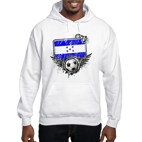 Soccer Fan Honduras Hooded Sweatshirt
