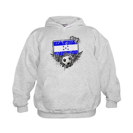 Soccer Fan Honduras Kids Hoodie