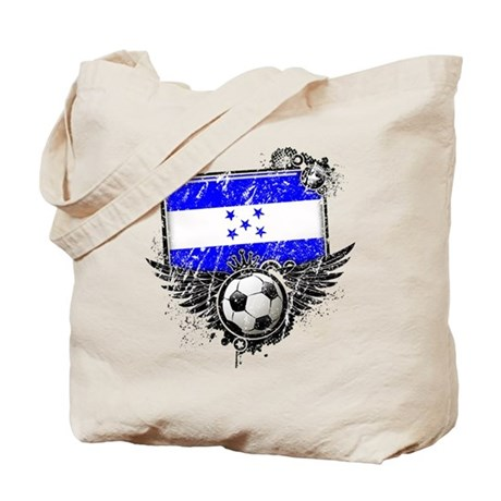 Soccer Fan Honduras Tote Bag
