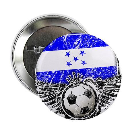 """Soccer Fan Honduras 2.25"""" Button (100 pack)"""