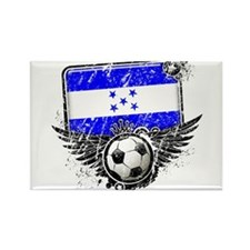 Soccer Fan Honduras Rectangle Magnet