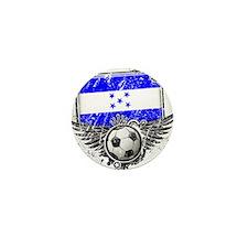 Soccer Fan Honduras Mini Button