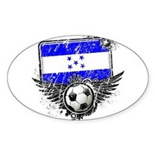 Soccer Fan Honduras Decal