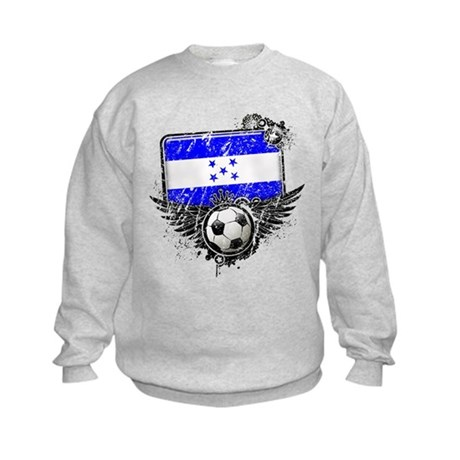 Soccer Fan Greece Kids Sweatshirt